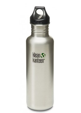 Klean Kanteen Classic 27 oz (800 ml) with loop cap
