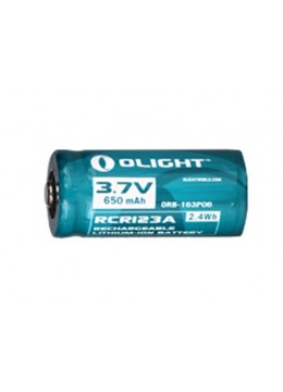 Olight RCR123A rechargeable battery 650mAh