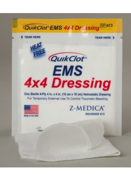 QuikClot 10x10 EMS Dressing - Set of 3