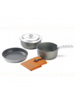 Trangia Camping Cookset Tundra Set III Ultralight Hardanodised
