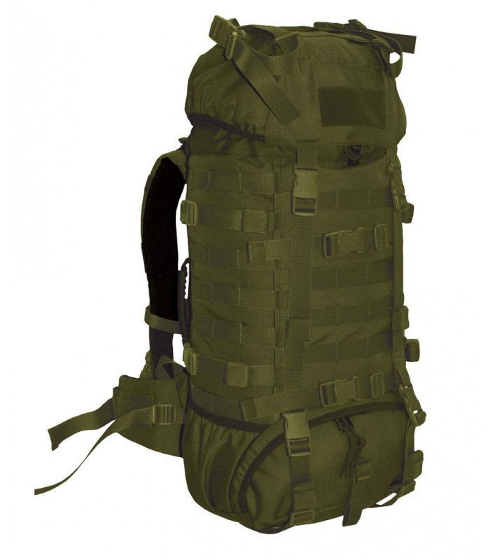 Wisport Raccoon 65 with side pockets