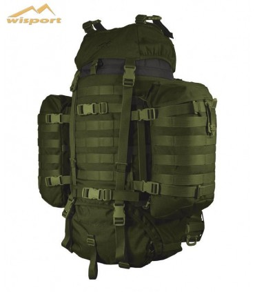 Wisport Raccoon 65 with side pockets