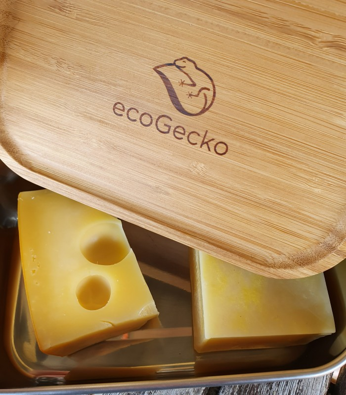 ecoGecko Lunch box with bambus lid