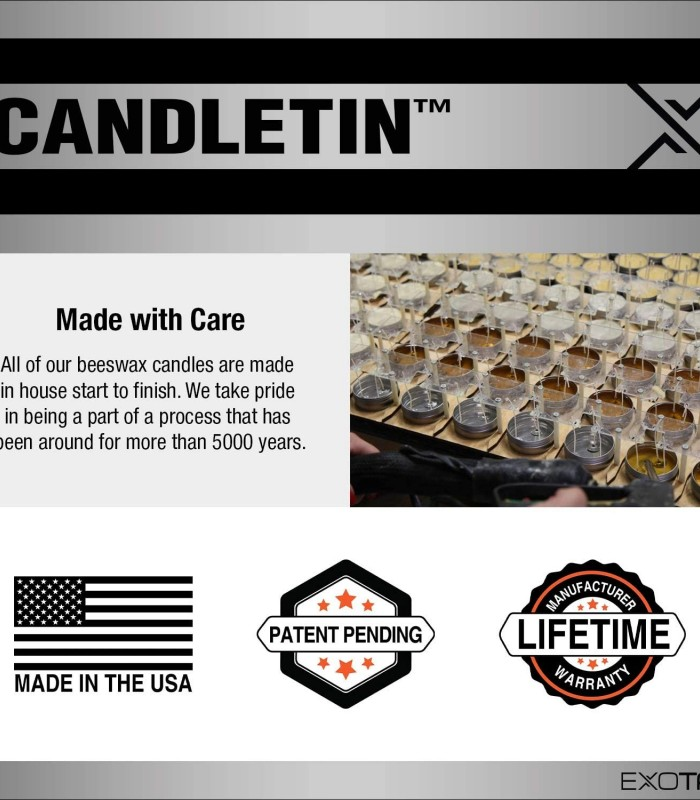 Exotac CandleTIN